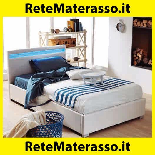 Tidyard Letto Matrimoniale Moderno in Similpelle Giroletto Matrimoniale Nero 140x200 cm